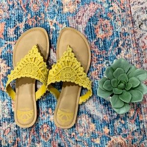 Yellow Fergalicious by Fergie shoes